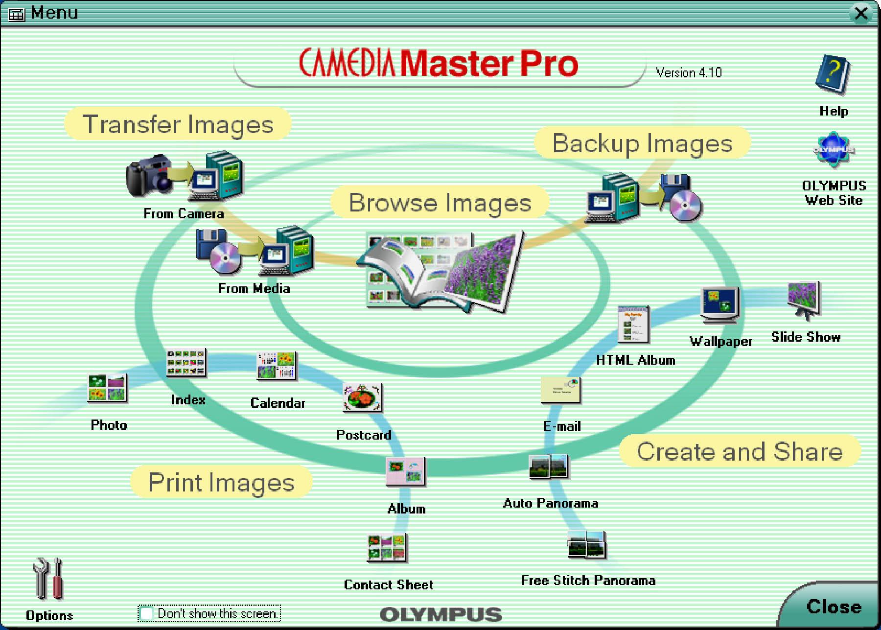 Camedia master download vista.
