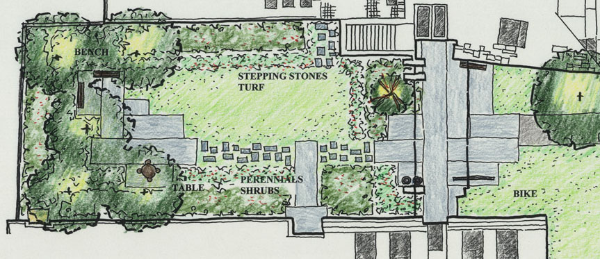 Woodland Clearing Landscaping Plan