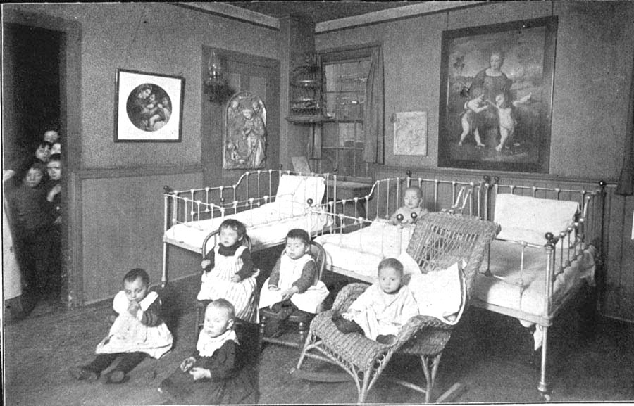 hull house nursery  ca  1890s