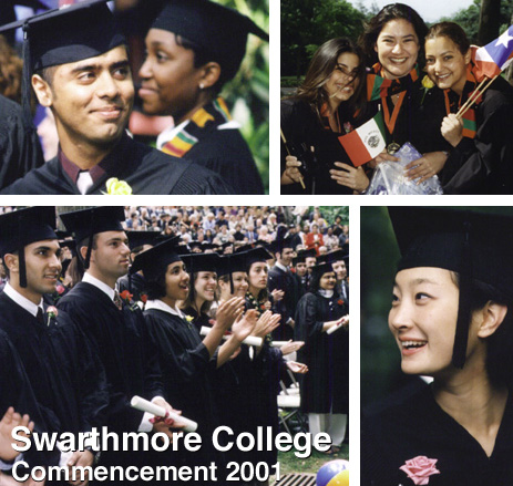 Swarthmore College Commencement 2001