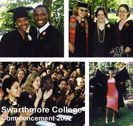 Swarthmore College Commencement 2002