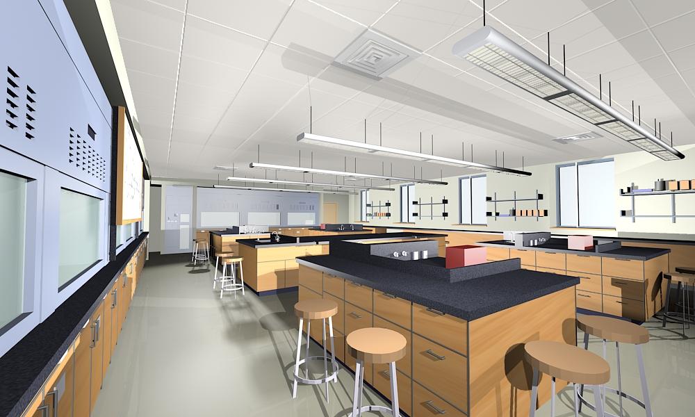 Chemistry Lab Interior Design