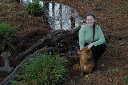 Valerie Robertson '75 is quietly walking the sustainability talk.