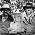 The Ridingtons began their fieldwork with their friend, the late Howard Broomfield (left) in 1978. Jillian is in the center, Robin on the right.