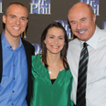 The husband-and-wife team of marriage coaches, Will Craig '96 (left) and Laurie Gerber '96 (center), made TV appearances with Dr. Phil McGraw twice this fall.