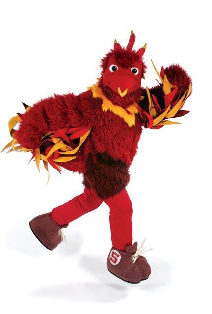 Swarthmore hatches a big red bird swarthmore college bulletin