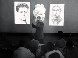 art class, 1950s