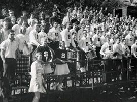bleachers, 1960