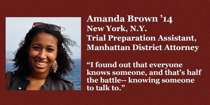 Amanda Brown '14