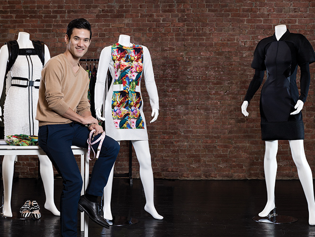 Joseph Altuzarra '05 studio major honored at AAFA