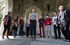 A student a cappella group