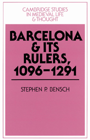 Cover of the book Barcelona and Its Rulers, 1096-1291 by Professor Stephe Bensch