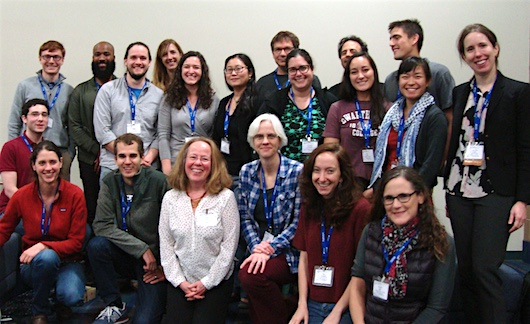 swatties at SICB meeting