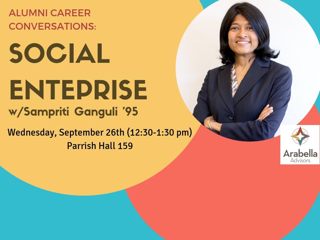 Alumni Career Conversation - Social Enterprise (9/26)