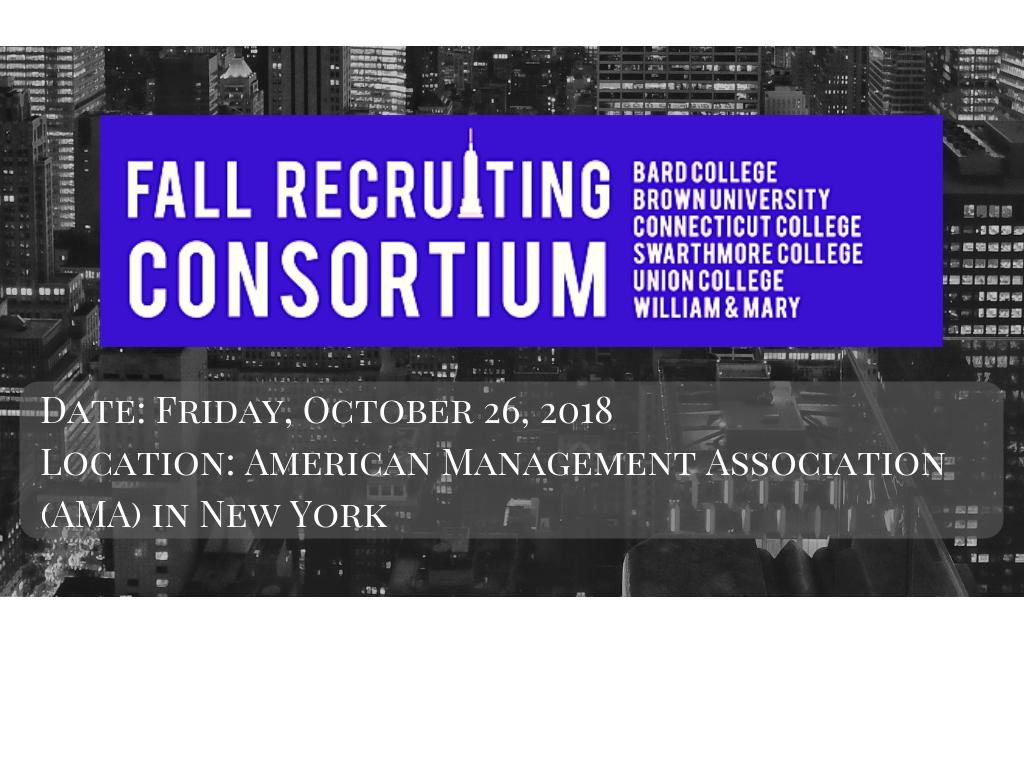 fall recruiting consortium 2018 (10/26)