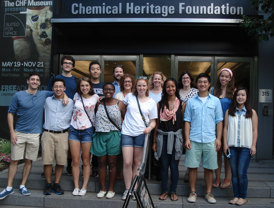 Field Trip to the Chemical Heritage Foundation