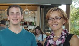 Josh Turek-Herman '16 & Prof Liliya Yatsunyk