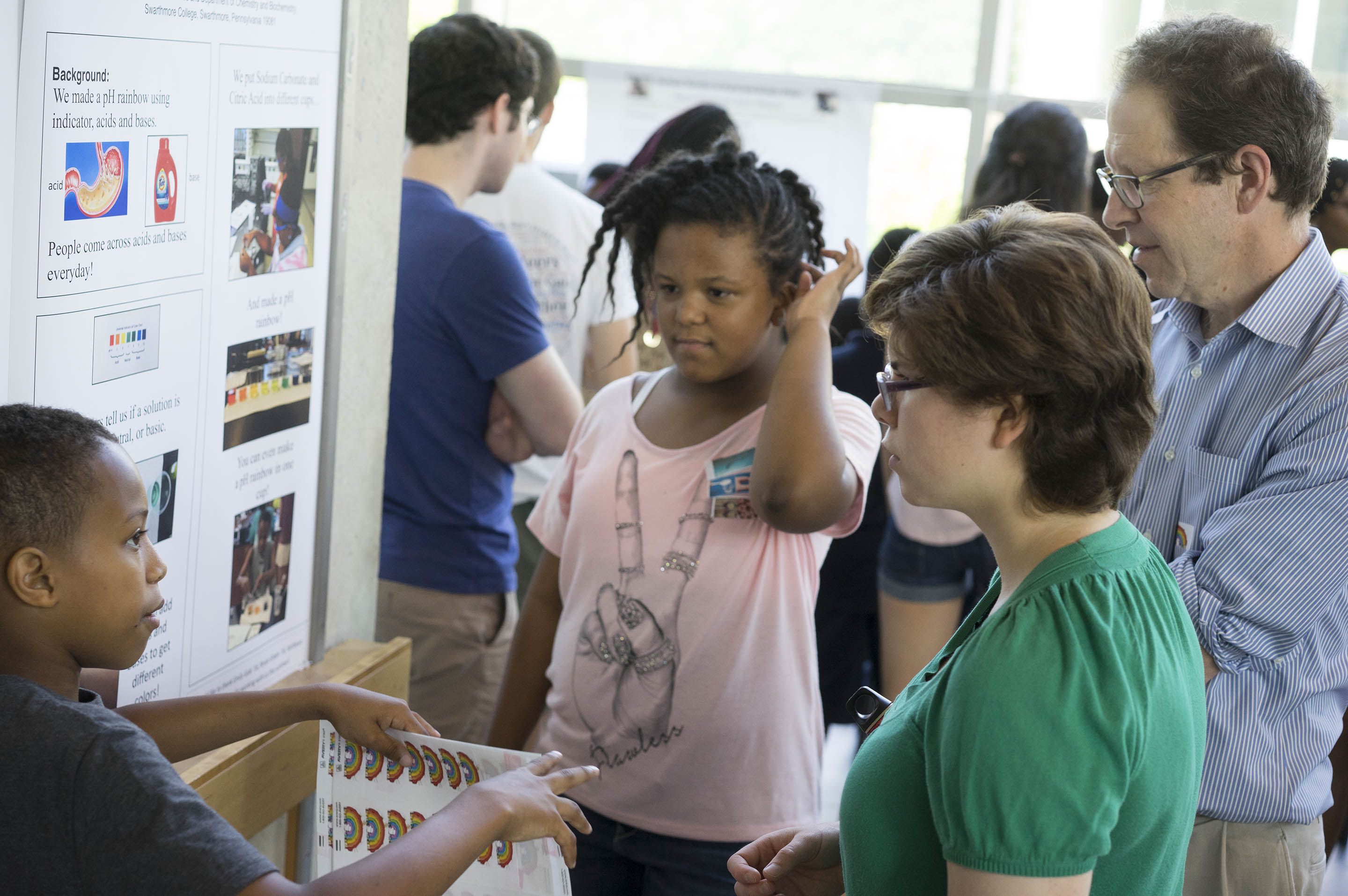 kids at the Science Fair