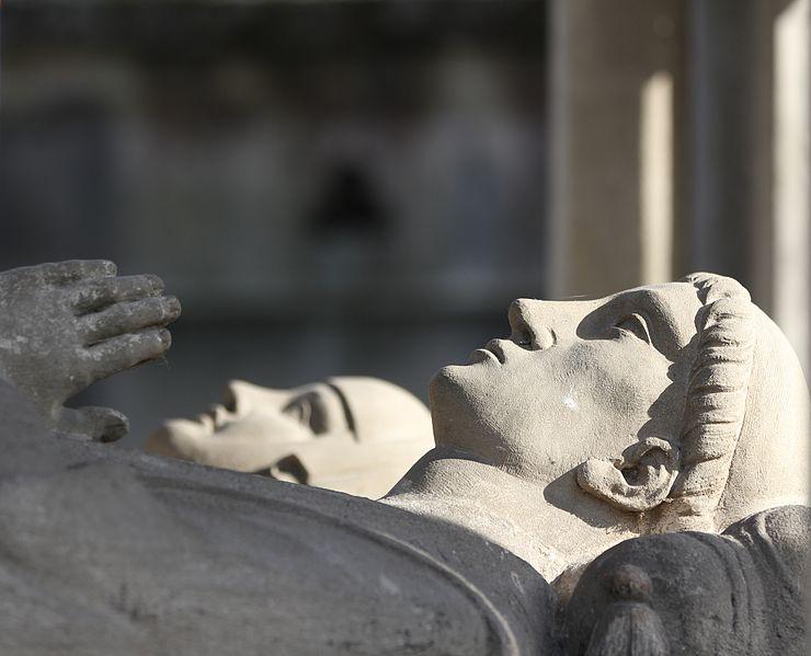 Tomb of Abelard and Heloise (1817); Paris, Père-Lachaise