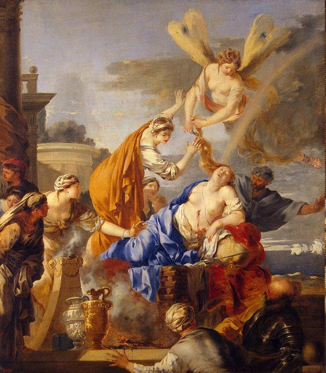Bourdon, Death of Dido