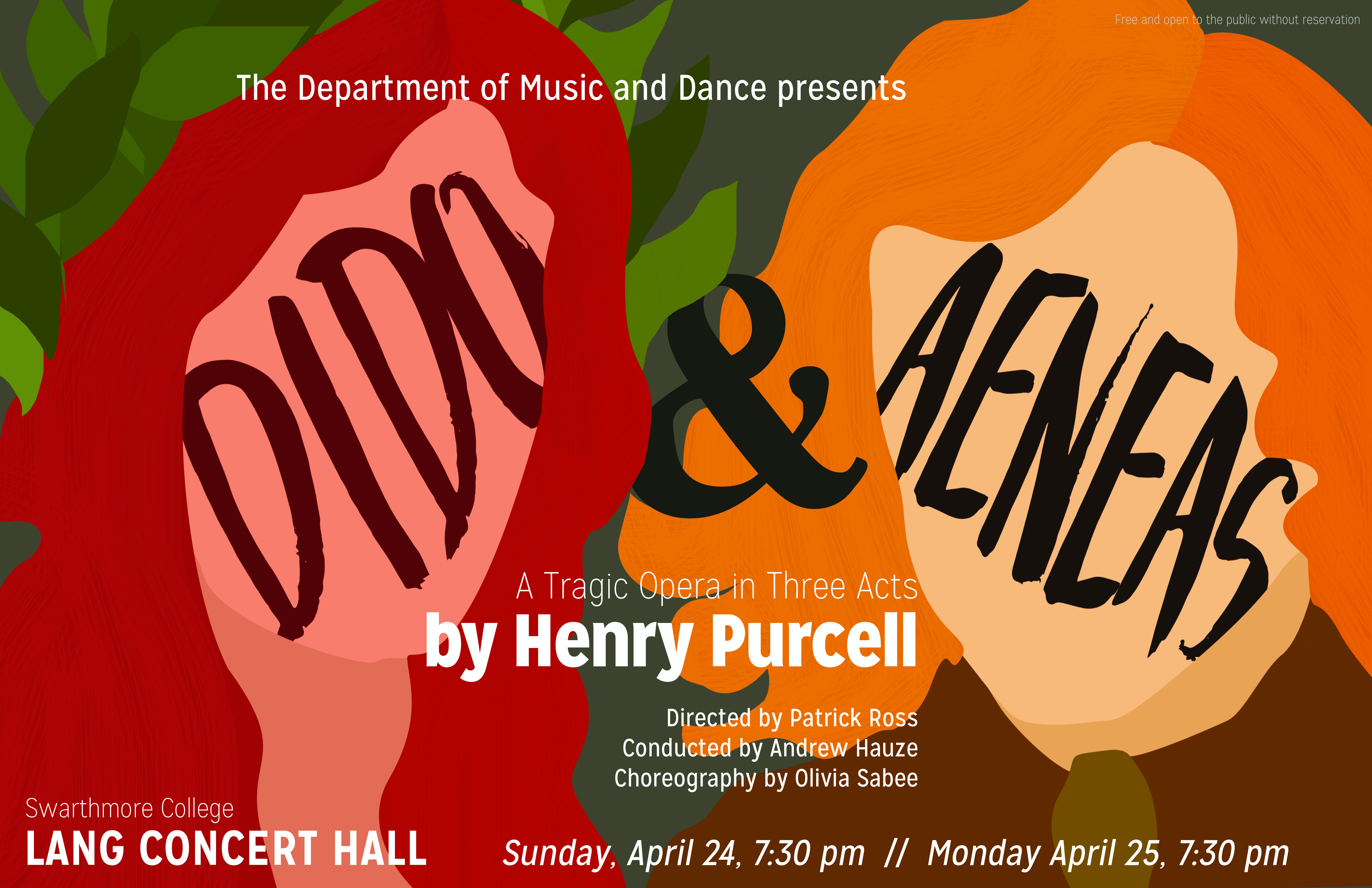 poster for Dido and Aeneas