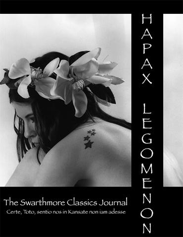 image of hapax legomenon cover