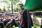 Commencement senior speaker Morgan Williams '14