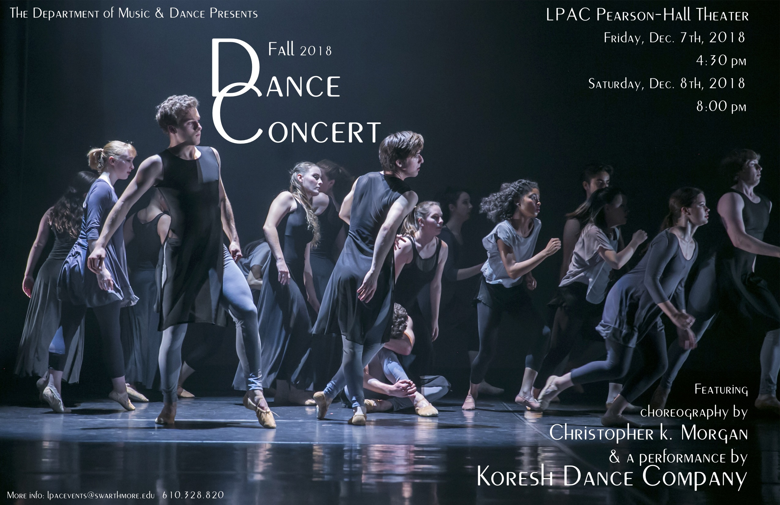Concert Poster with Student Dancers