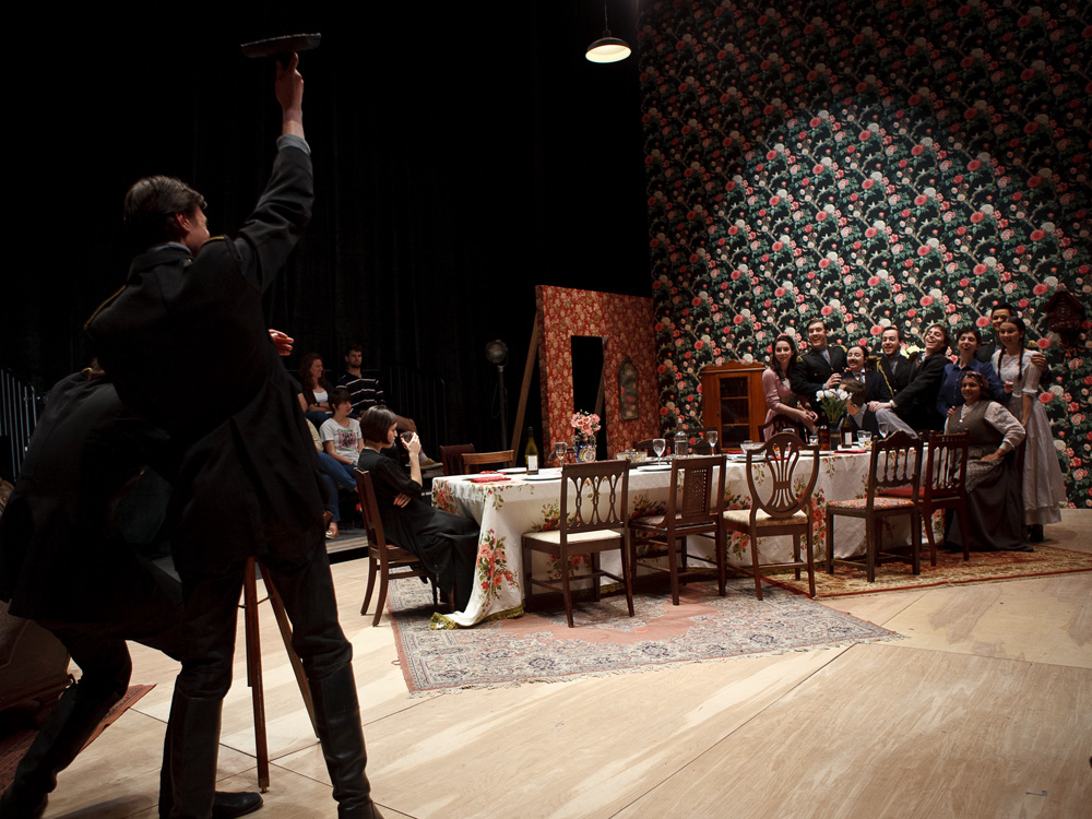 Image from Production Ensemble 2012, Three Sisters