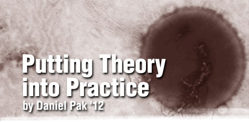 Putting Theory into Practice by Daniel Pak