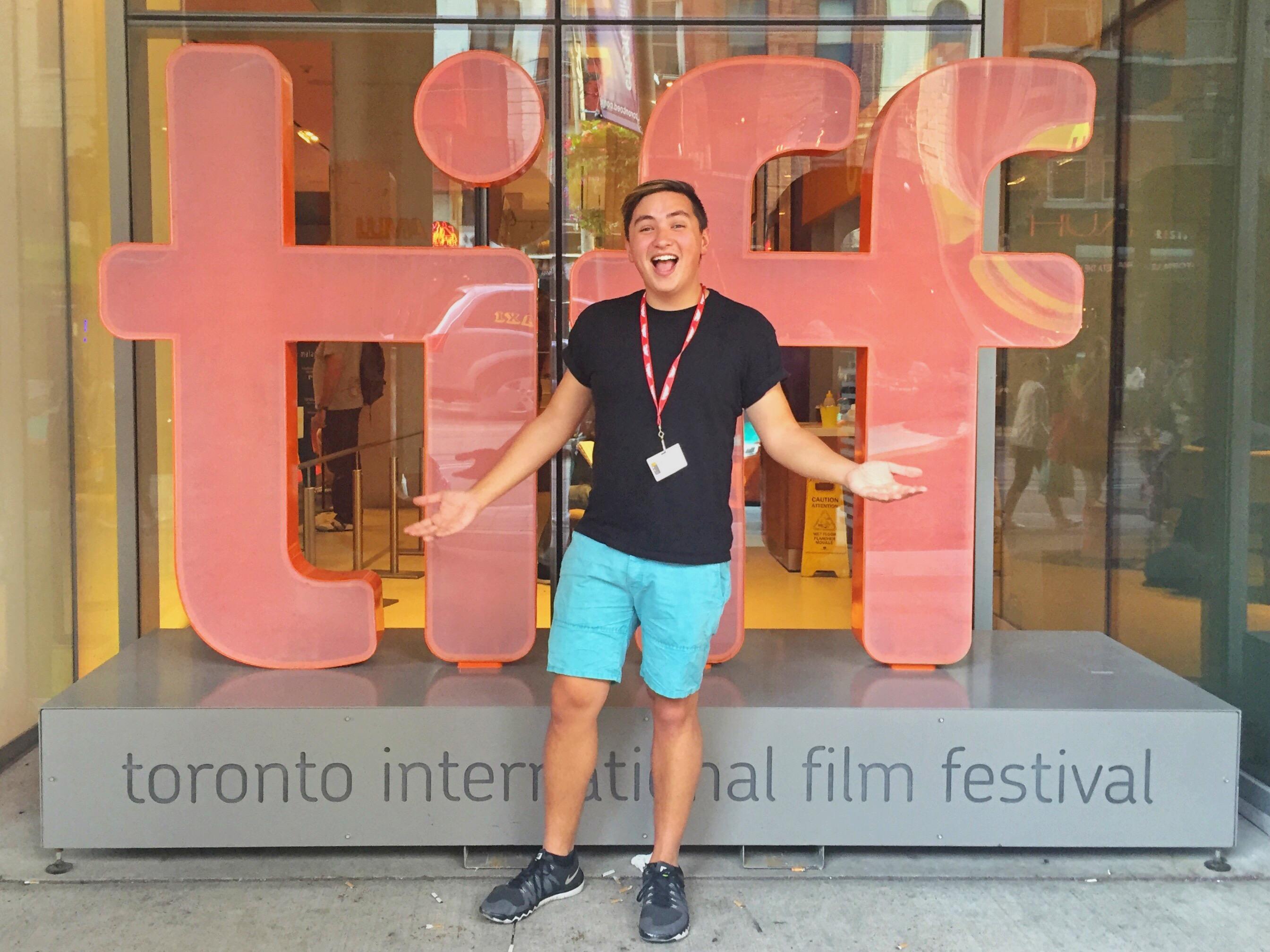 Grant Torre at TIFF
