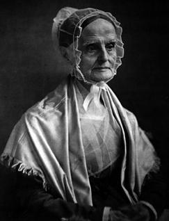 Photograph of Lucretia Mott