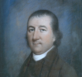 Pastel Portrait of Miers Fisher about 1800