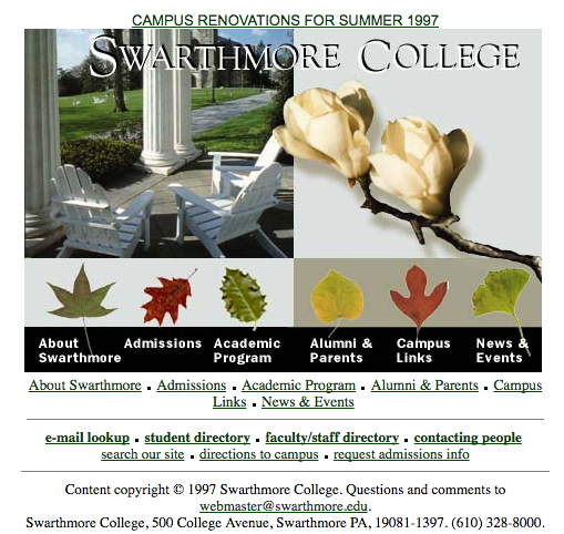 dating at swarthmore college According to the friends historical library of swarthmore college, swarthmore, pennsylvania,  problem in understanding the quaker calendar system4 double-dating.