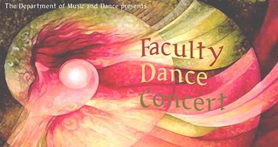 Flyer for Faculty Dance Concert
