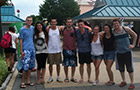 The Research Group at Dorney Park in 2013