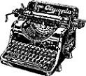 old time typewriter