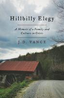 "Cover image for ""Hillbilly Elegy"""