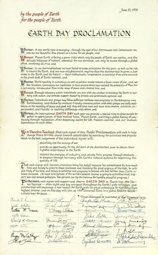 Earth Day Proclamation