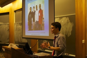 Nick Allred '13 presents his Lang Project