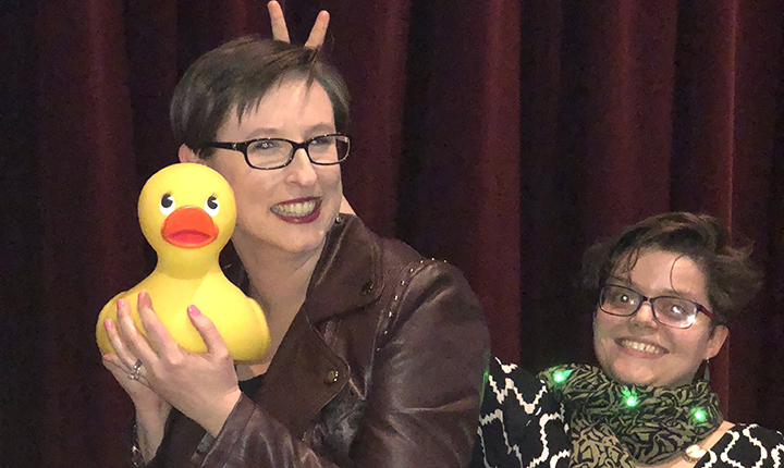 Krista Thomason and the coveted rubber duck