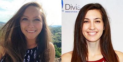 Dana Lenoard '18 and Isabella Smull '16