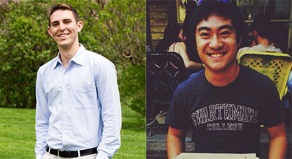 Ascanio Guarini '16 and Shenstone Huang '16