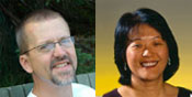 Eric Jensen and Amy Cheng Vollmer