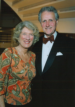 Julie Lange Hall '55 and J. Parker Hall III '55
