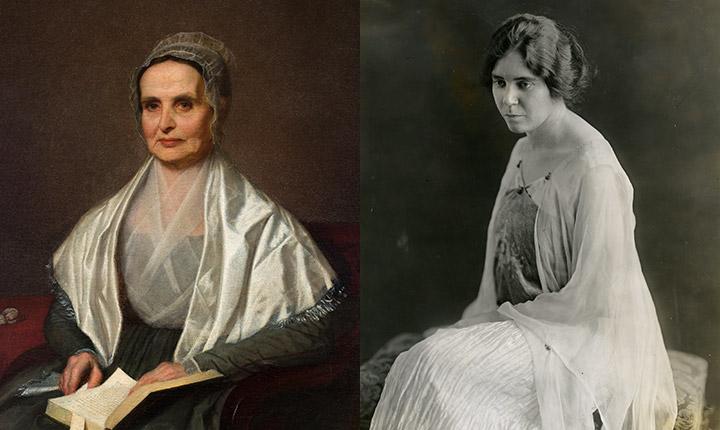 Lucretia Mott and Alice Paul, 1905