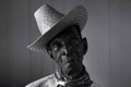 Nathaniel Youngblood, one of the legendary cowboys who worked the O'Connor Ranch in the Coastal Bend region of Texas.