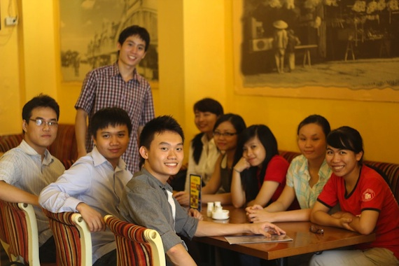 Duong Tran '15 in Vietnam