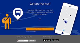 TransLoc homepage
