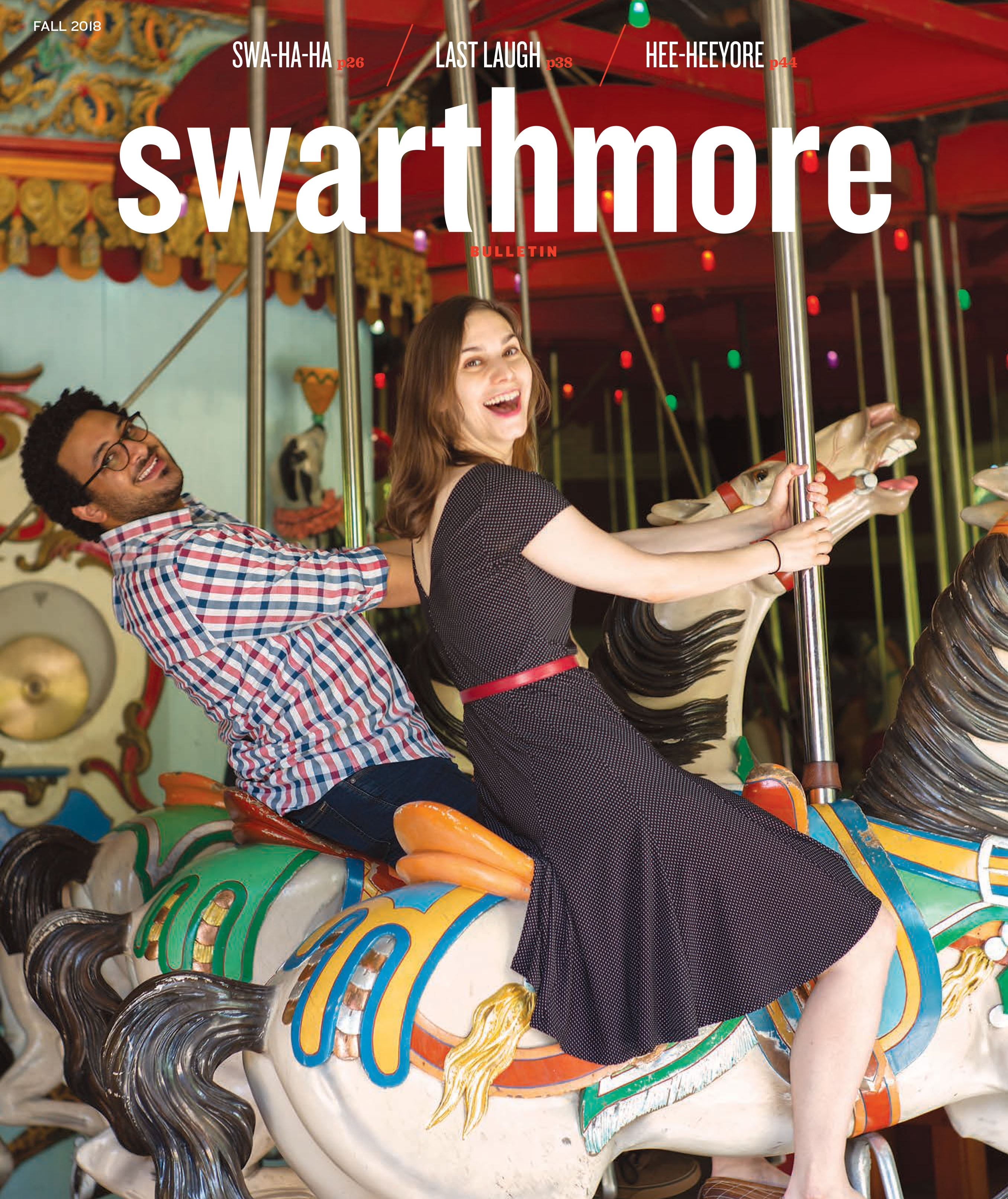 Swarthmore Bulletin Cover Fall '18